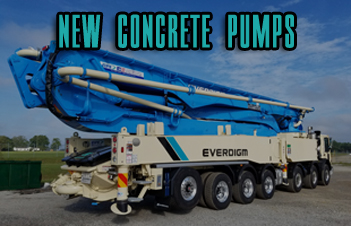 New Concrete Pumps